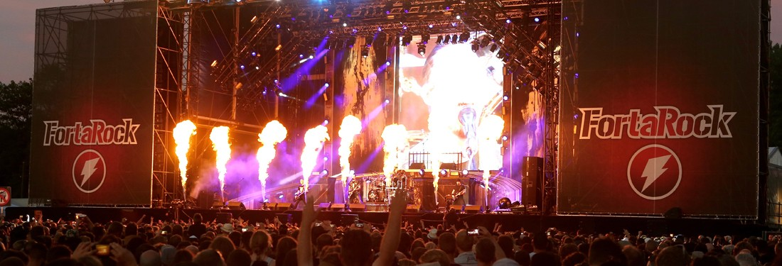 Fortarock 2016 - A heavy day in the park