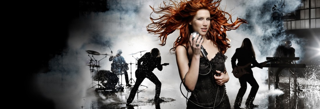 Delain, Kingfisher Sky - A female fronted metal night in Haarlem