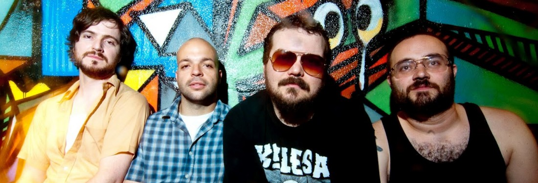 Torche / Snowburner / Brutus - Torche's sonic waves bounced back and forth in Patronaat Cafe.