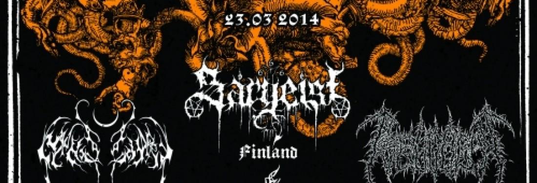 Nightbringer, Sargeist, Pseudogod, Irkallian Oracle - Disciples of the Void European tour 2014