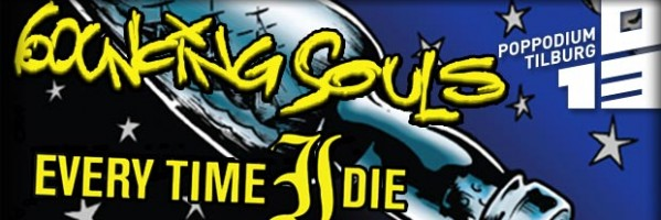 Colours Dead Bleed, Every Time I Die, The Bouncing Souls, - No I'm not crying, it's just sweat.