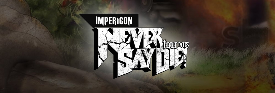 Emmure, Carnifex, I Killed The Prom Queen, Betraying The Martyrs, Hundreth, Northlane, Hand Of Mercy - Just another awesome edition of the Impericon Never Say Die! Tour