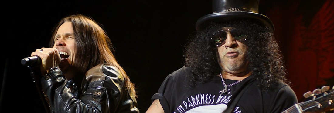 Slash featuring Myles Kennedy and the Conspirators - Axl who...?