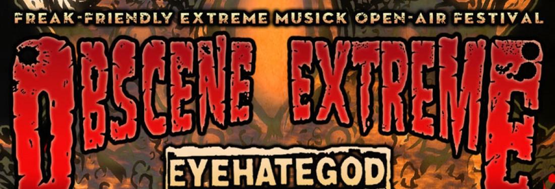Obscene Extreme 2014 - Freak-friendly Extreme Musick Open-air Festival